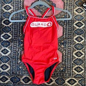 TYR Swim - Lifeguard swimsuit